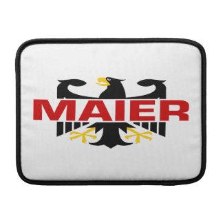 Maier Surname MacBook Sleeve