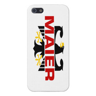 Maier Surname iPhone 5 Covers