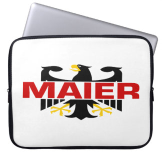 Maier Surname Laptop Computer Sleeves