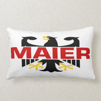 Maier Surname Pillow