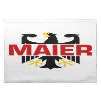 Maier Surname Place Mat