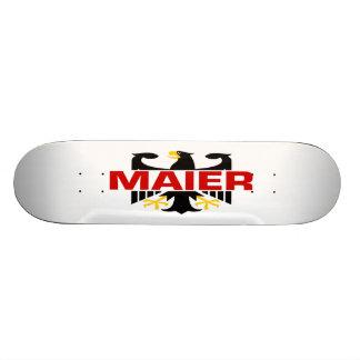 Maier Surname Skate Board Deck