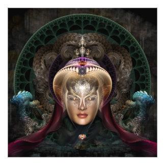 Maikia - la impresión mística de la foto del guard cojinete
