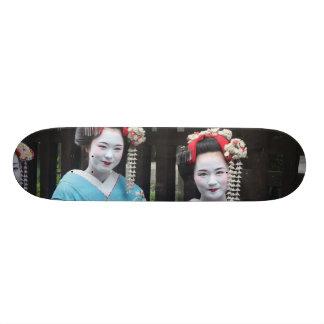 maiko geiko japan skateboard