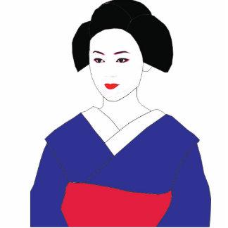 Maiko/Geisha photo sculputure Cutout
