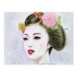 Maiko Girl Postcard