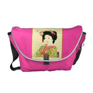 Maiko la bolsa de mensajero japonesa del carrito bolsa de mensajeria