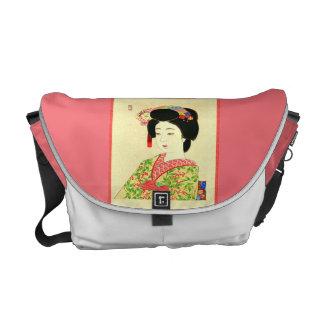 Maiko la bolsa de mensajero japonesa del carrito bolsas messenger