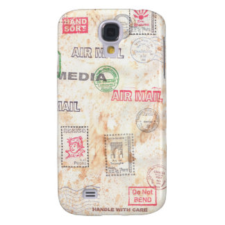 Mail Art Design Galaxy S4 Cover