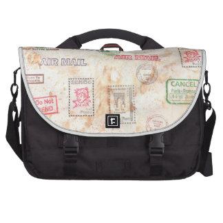 Mail Art Design Laptop Bags