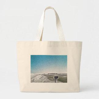 Mail Box Enhanced Oil Jumbo Tote Bag