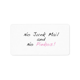 Mail Box Sticker Address Label
