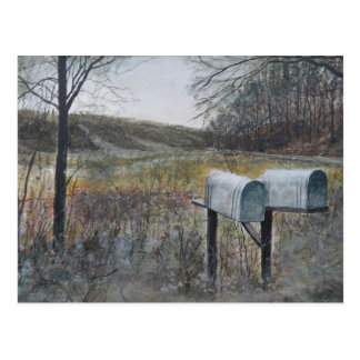 Mail Boxes Postcard
