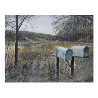 Mail Boxes Postcard