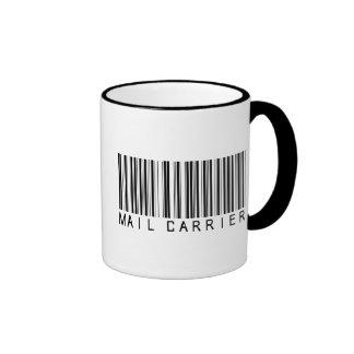 Mail Carrier Bar Code Ringer Coffee Mug