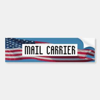 MAIL CARRIER bumper sticker Car Bumper Sticker