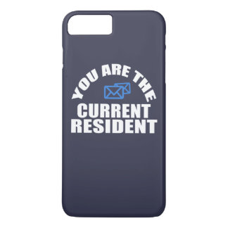 Mail Carrier - Current Resident iPhone 8 Plus/7 Plus Case