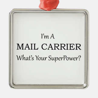 MAIL CARRIER METAL ORNAMENT