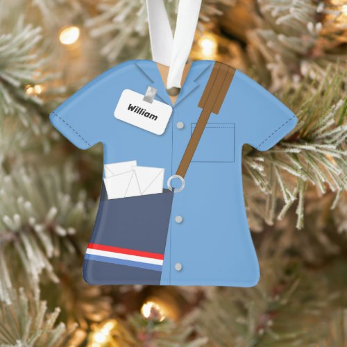 Mail Carrier Post Office Profession Ornament