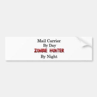 Mail Carrier/Zombie Hunter Bumper Sticker