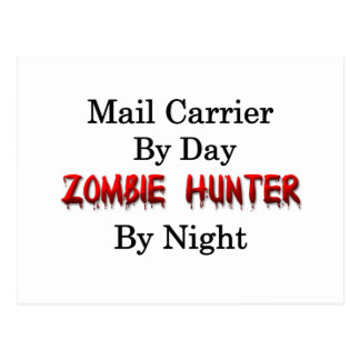 Mail Carrier/Zombie Hunter Postcard