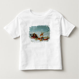 Mail Coach in the Snow Tees