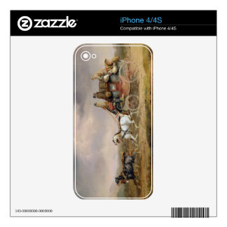 Mail Coaches on the Road: The Louth-London Royal M iPhone 4 Decal