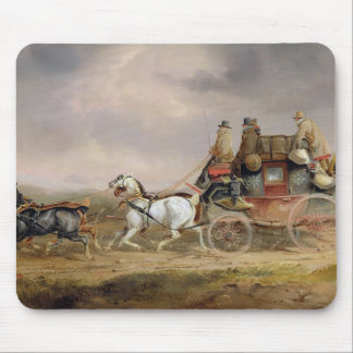 Mail Coaches on the Road: The Louth-London Royal M Mouse Pad