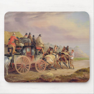 Mail Coaches on the Road: The 'Quicksilver' Devonp Mouse Pad