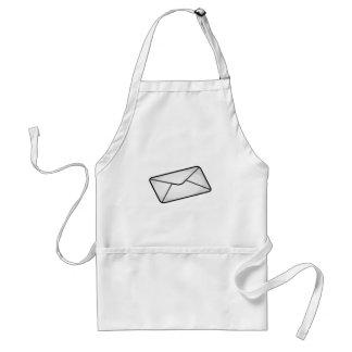 Mail Envelope Adult Apron