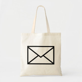 Mail envelope tote bag