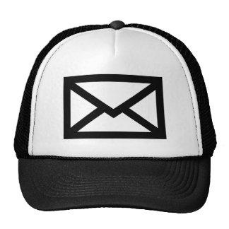 Mail envelope trucker hat