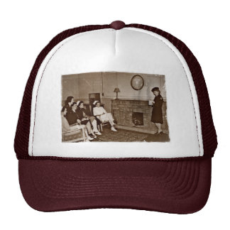 Mail From Home Nurses During WWII Hats