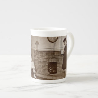 Mail From Home WWII Porcelain Mug
