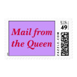 Mail from the Queen Postage Stamp