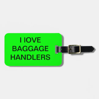 Mail Handler Luggage Tag
