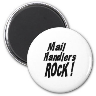 Mail Handlers Rock! Magnet