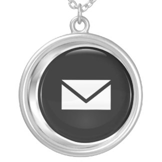 Mail - In Box Silver Plated Necklace
