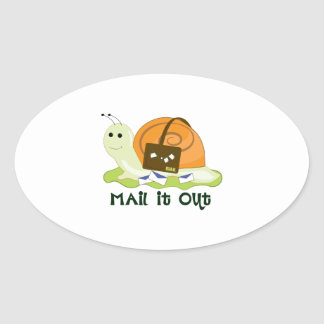 Mail It Out Stickers