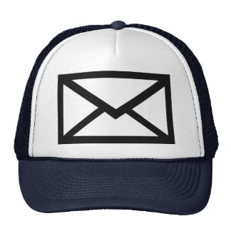 Mail - Letter Mesh Hat