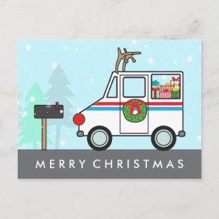 Mailman Christmas Cards Zazzle 100 Satisfaction Guaranteed
