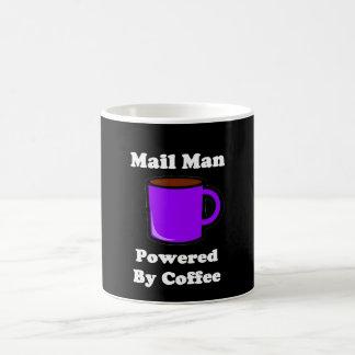 """""""Mail Man"""" Powered by Coffee Coffee Mug"""