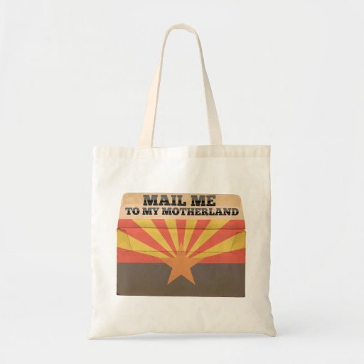 Mail me to Arizona Canvas Bags