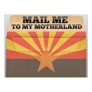 Mail me to Arizona Postcard