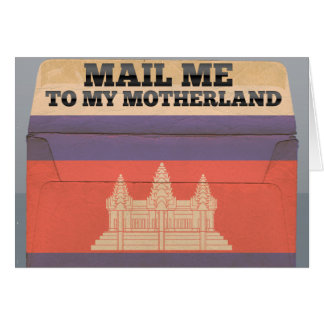 Mail me to Cambodia Card