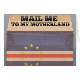 Mail me to Cape Verde Card