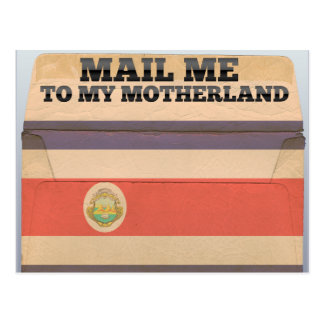 Mail me to Costa Rica Postcard