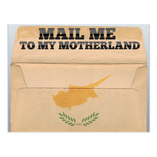 Mail me to Cyprus Postcard