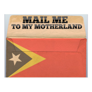 Mail me to East Timor Postcard