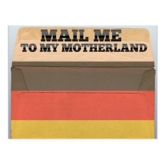Mail me to Germany Postcard